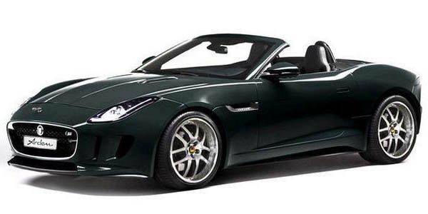 Arden se penche sur la Jaguar F-Type