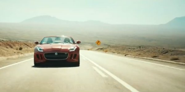 La Jaguar F-Type fait son cinéma