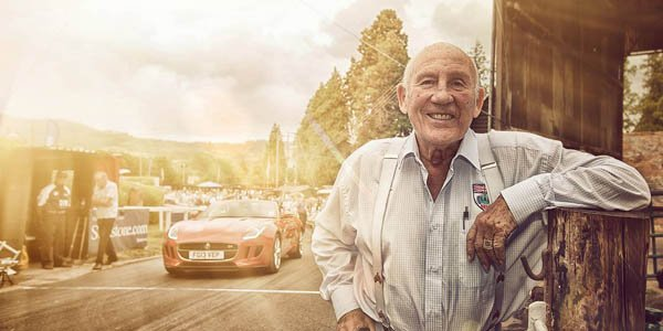 Stirling Moss a essayé la Jaguar F-Type