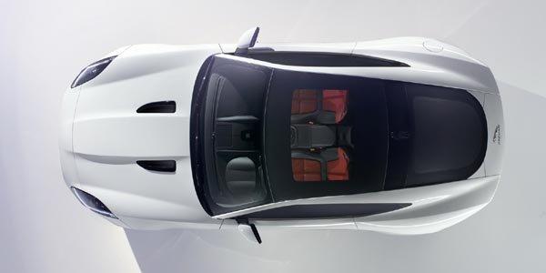 La Jaguar F-Type Coupé en approche