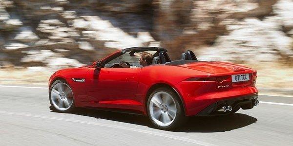 La Jaguar F-Type : nouvelles photos !