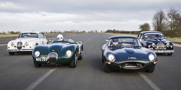 Jaguar Heritage Challenge Series : le programme