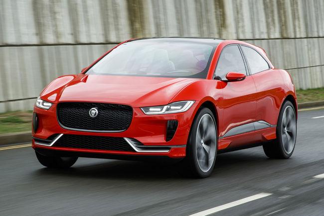 Un teaser pour le futur Jaguar I-Pace
