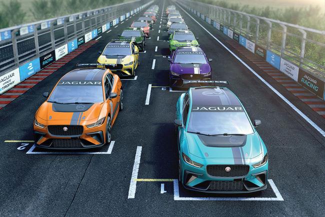Formula E : nouvelle série Jaguar I-Pace eTrophy