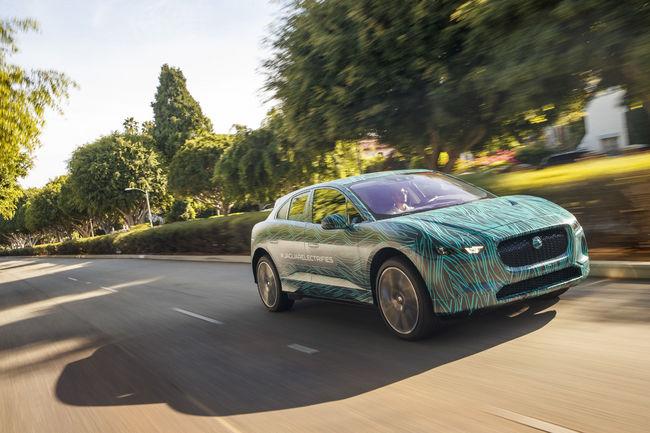 Virée californienne pour le Jaguar I-Pace