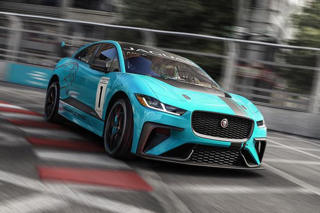 Une version SVR du Jaguar I-Pace en préparation