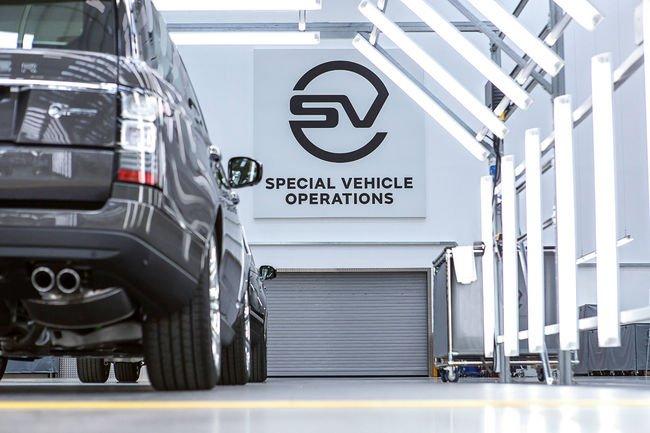 Nouveau Centre Technique pour Jaguar Land Rover SVO