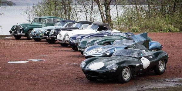 Jaguar fête ses 80 ans sur les Mille Miglia