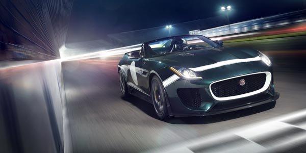 Jaguar dévoile sa F-Type Project 7