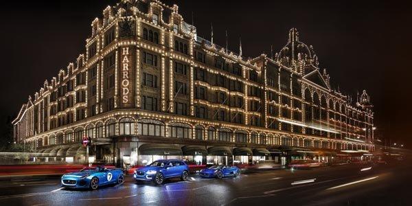 Jaguar expose ses concept-cars à Londres