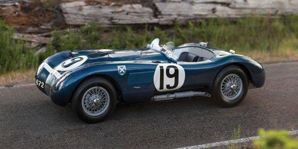 Une rare Jaguar Type C pour RM Sotheby's à Monterey
