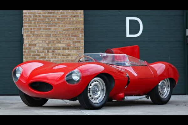 Gooding : une Jaguar Type D ex-Ecclestone aux enchères