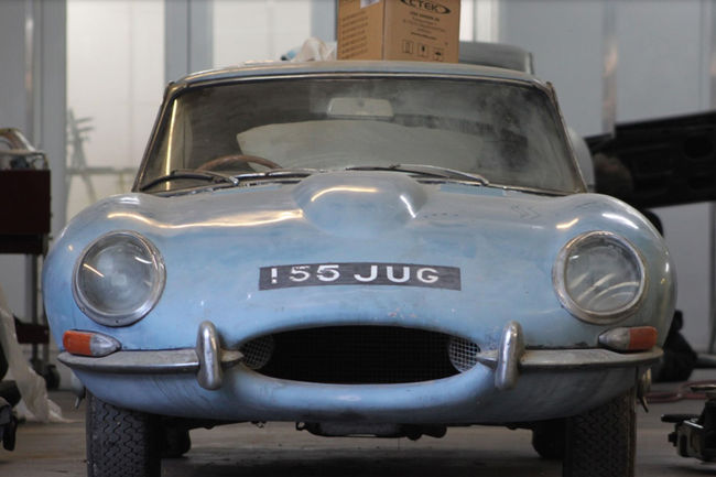 Restauration : Jaguar Type E Series I 1964