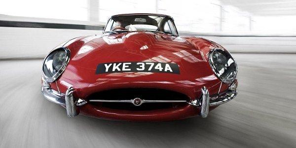 Jaguar Type E célébrée à Goodwood