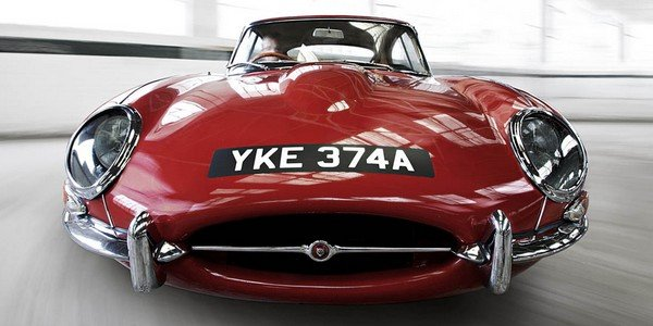 Jaguar Type E : le livre