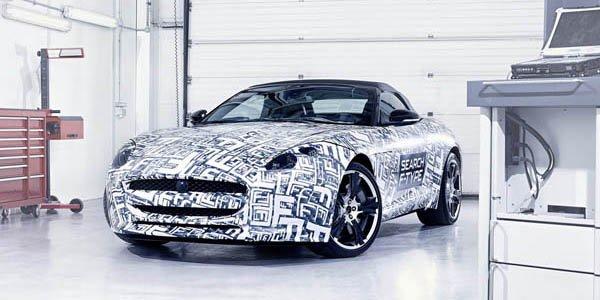 Un V8 de 540ch pour la Jaguar Type F