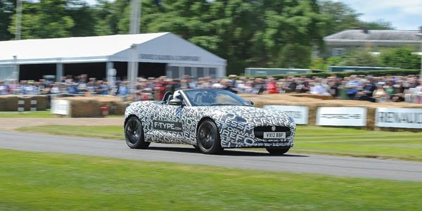 Goodwood 2012 : Jaguar F-Type