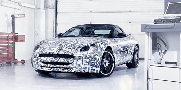 La Jaguar F-Type sera à Paris