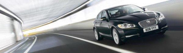 Bon début pour la Jaguar XF