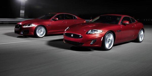 Jaguar restyle les XF et XK