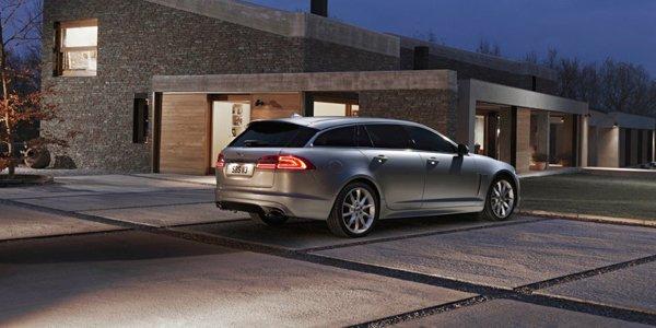 La Jaguar XF Sportbrake en vidéo