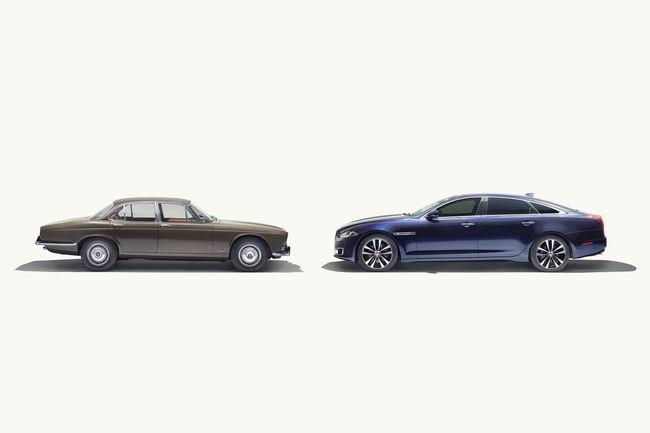 Les 50 ans de la Jaguar XJ célébrés à Paris