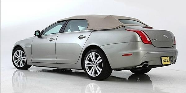 Jaguar XJ, l'étrange cabriolet 4 portes