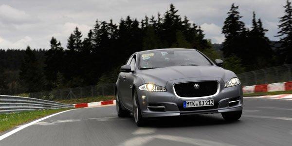 Un taxi Jaguar pour le Nürburgring