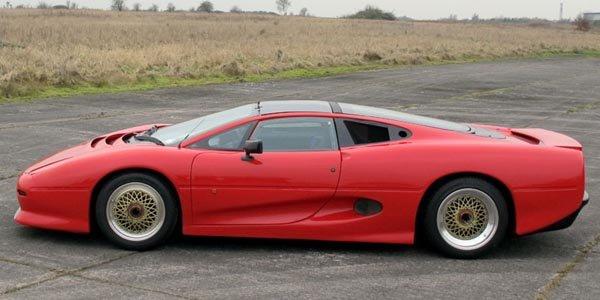Un prototype de la Jaguar XJ220 à vendre