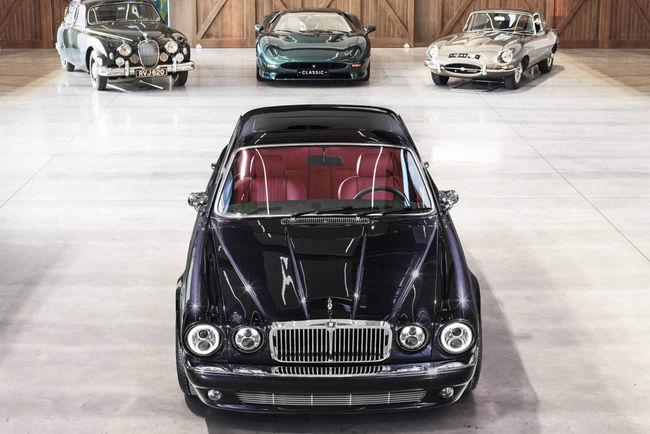Une Jaguar XJ6 spéciale pour le batteur d'Iron Maiden