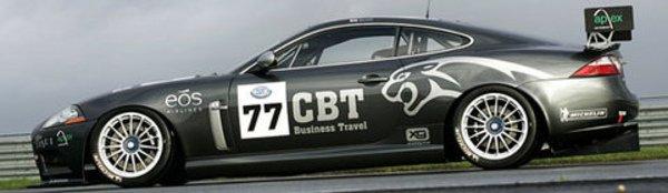 Une Jaguar XKR en championnat FIA GT3