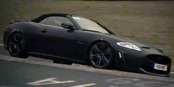 La Jaguar XKR-S Cabriolet sur le Ring