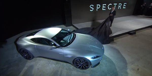 James Bond roulera en Aston Martin DB10