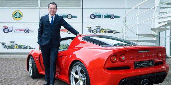 Le Français Jean-Marc Gales prend la présidence de Lotus Cars