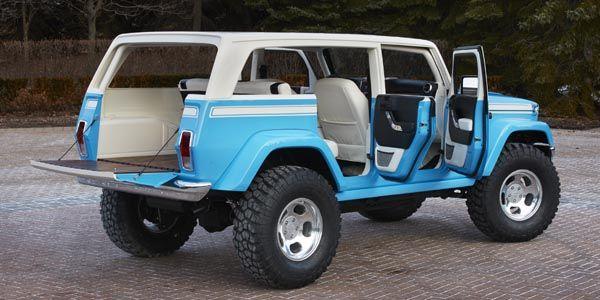 Jeep dévoile sept nouveaux concepts