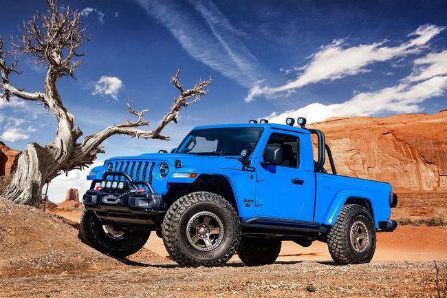 Six concepts Jeep et Mopar au Moab Easter Jeep Safari