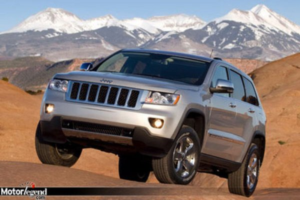 jeep grand cherokee 2011 nouvelles photos actualit automobile motorlegend. Black Bedroom Furniture Sets. Home Design Ideas