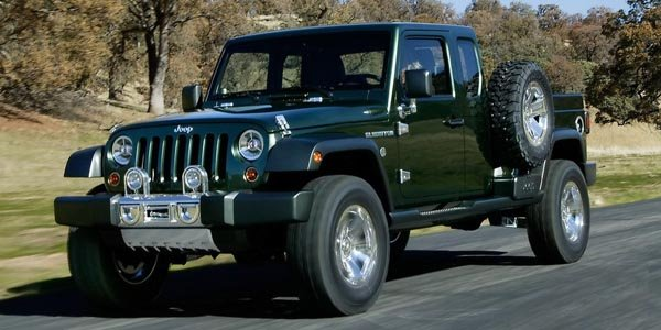 Jeep : bientôt un pick-up ?