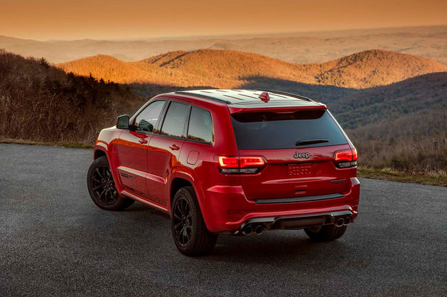 Jeep Grand Cherokee Trackhawk : en mode Hellcat