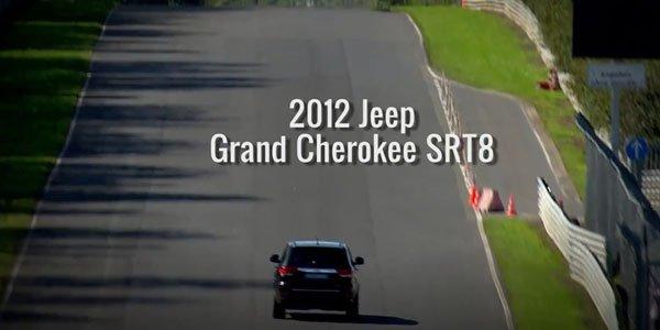 Le Grand Cherokee SRT8 en 8'49