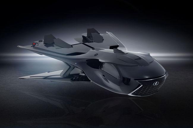 Le jet QZ 618 Galactic Enforcer des Men in Black est avancé