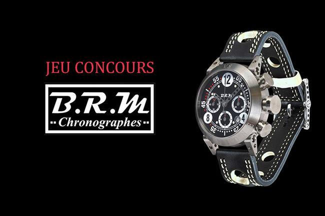 Jeu : tentez de gagner une montre BRM