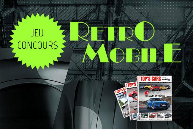 Jeu-concours Rétromobile 2018