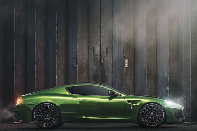 Kahn Design WB12 Vengeance Green superhero