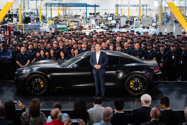 One-off Karma Revero Black Ocean Limited Edition