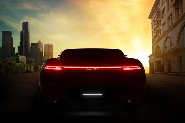 Karma Automotive et Pininfarina teasent leur concept