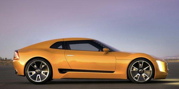 Kia GT4 Stinger Concept en fuite