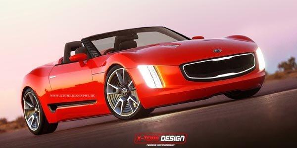 Concept GT4 Stinger Cabrio par X-Tomi