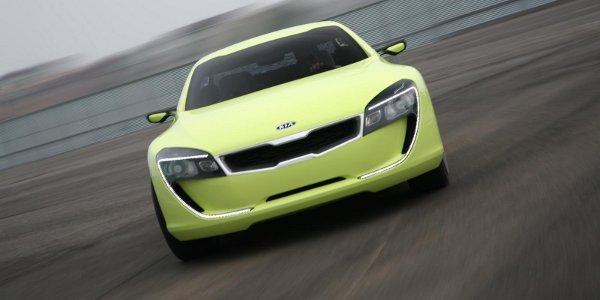 Un coupé Kia V8 pour Francfort