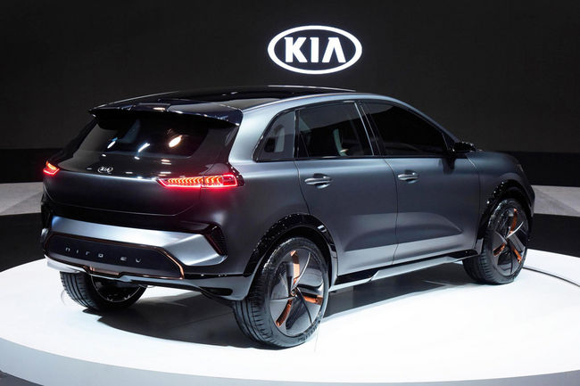 CES : Kia Niro EV Concept